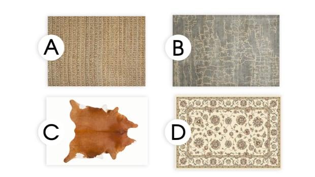 design style - area rug