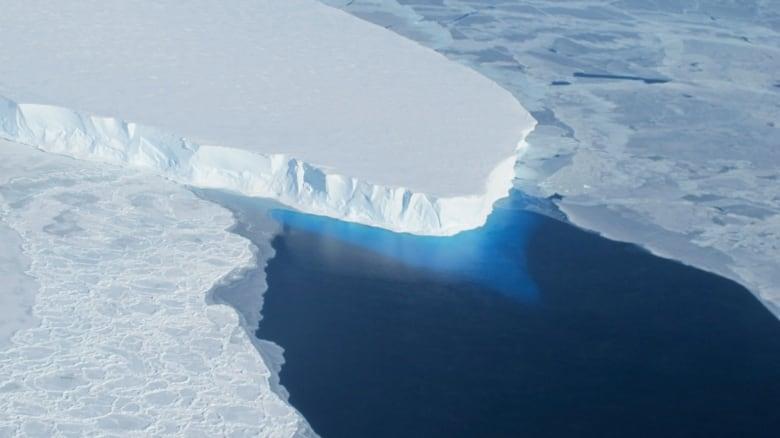 Glacier half the size of Manhattan breaks off Greenland