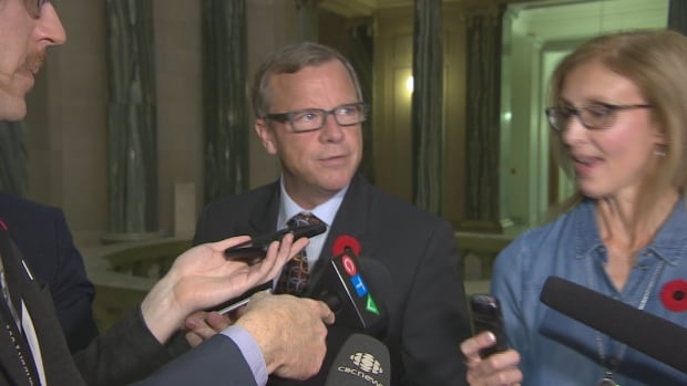 For two days in a row, Premier Brad Wall walked away from media scrums when asked about the controversial GTH land deal.