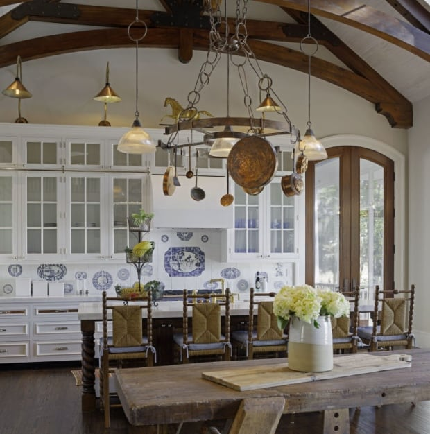 french country - kitchen