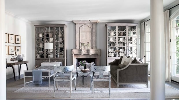 french country - living room