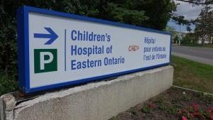 children's hospital eastern ontario cheo logo sign ottawa