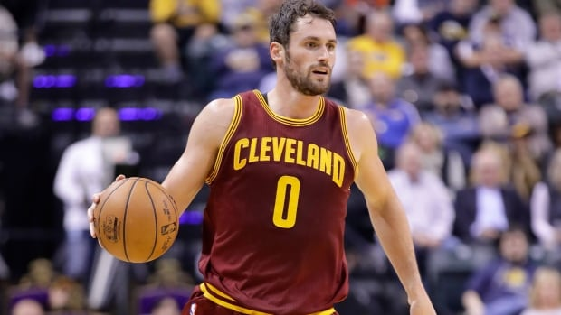 Cavs' Kevin Love scores 34 points in first quarter vs. Blazers