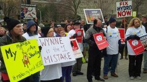 Hydro protest
