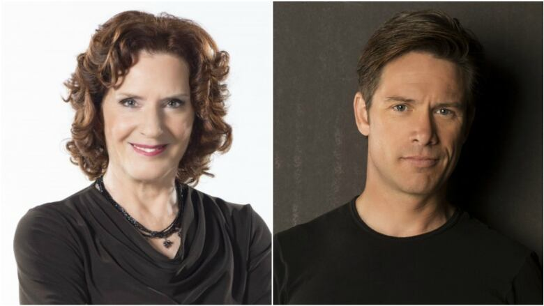 Carol Off and Jeff Douglas