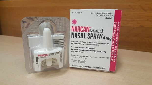 Three Winnipeg police officers had to self-administer naloxone after a possible  opioid exposure Monday afternoon that left them feeling light-headed.