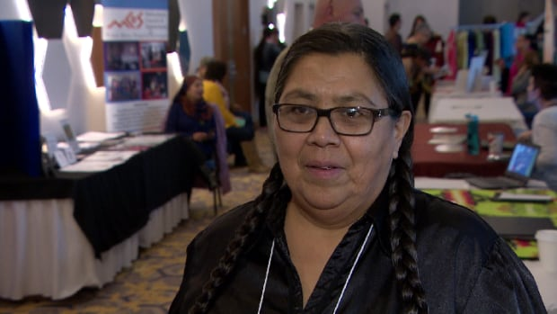 Ira Horse and her husband only speak Cree at home.
