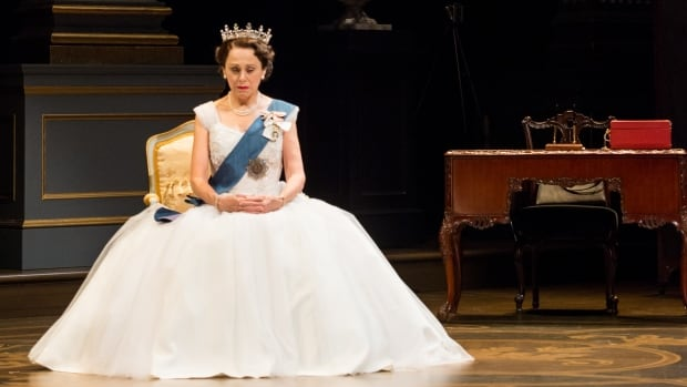 Fiona Reid in Peter Morgan's The Audience, which explores the monarchy and the reign of Queen Elizabeth through her meetings with British prime ministers.