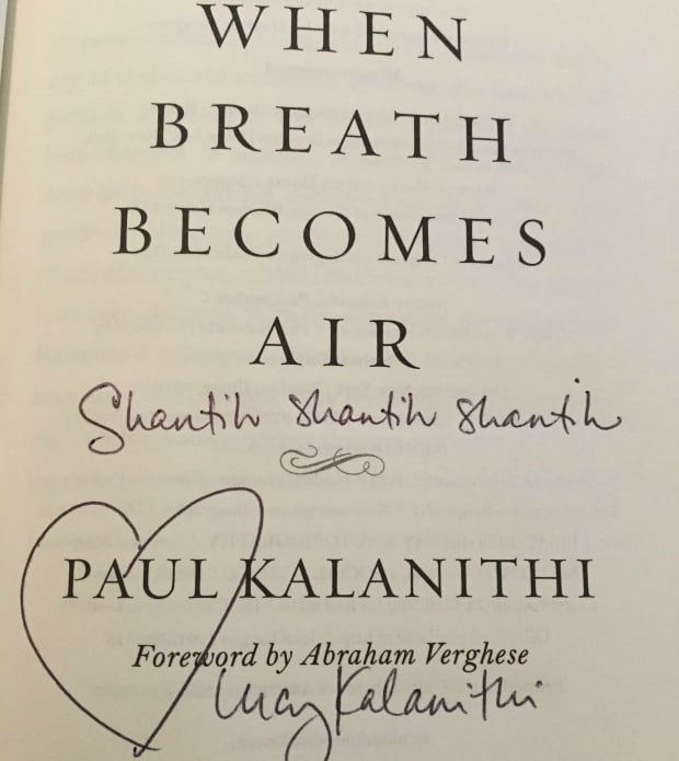 When Breath Becomes Air inside