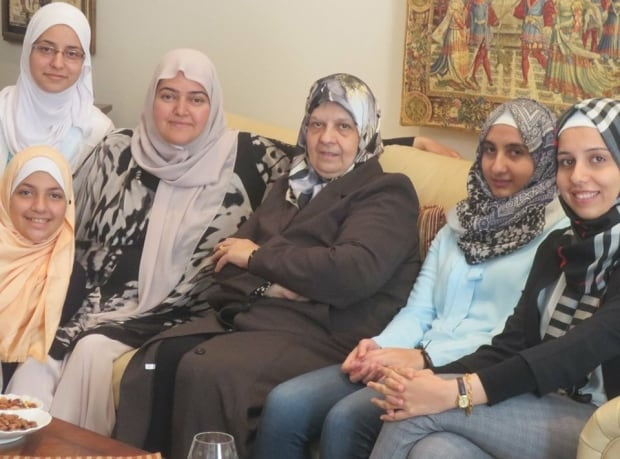 najjar-family 'It was very hard': Learning English a big struggle for Syrian refugees