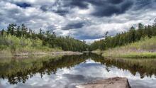 Scenic Eramosa River by Shari Lovell of Rockwood