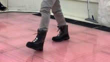 WinterLab boots testing