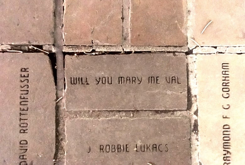 Proposal brick: Part of Olympic Plaza carries deeper meaning