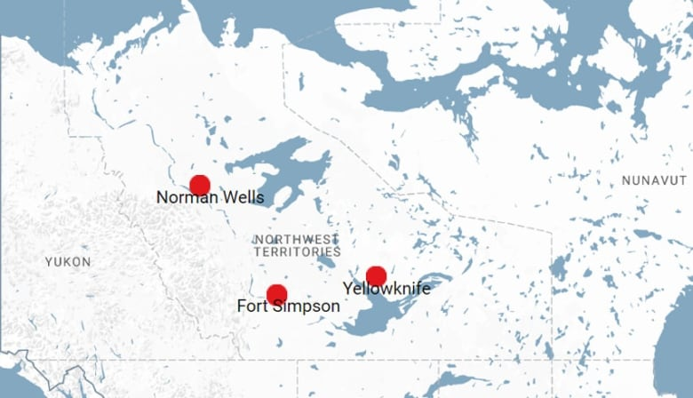 Map Of Canada Yellowknife.Enbridge Shuts Down Norman Wells Pipeline Citing Stability