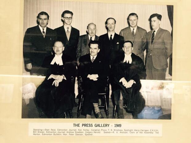 The Alberta Press Gallery, 1949