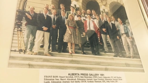 In its heyday, the Alberta legislature press gallery had reporters based in Edmonton from across the province.