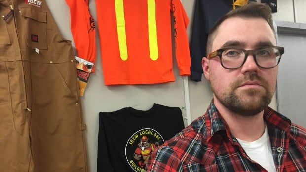 Brett Maclean is a certified journeyman electrician in Ottawa. He's concerned about changes to the regulation of trades in the Ontario 2016 budget bill.