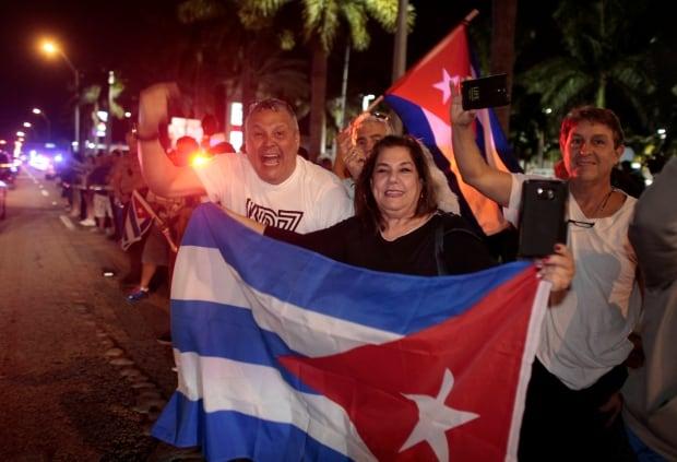 CUBA-CASTRO/REACTION-USA