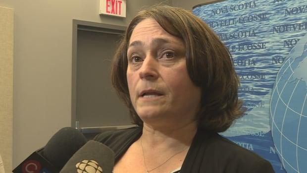Nova Scotia Teachers Union president Liette Doucet announced Monday her members would begin work-to-rule job action next week.
