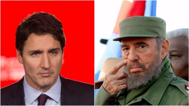 Prime Minister Trudeau's praise for Castro was mocked on social media and some tweeted fake eulogies for other polarizing figures using the hashtag #trudeaueulogies.