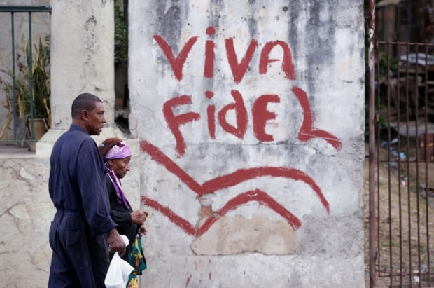 CUBA-CASTRO
