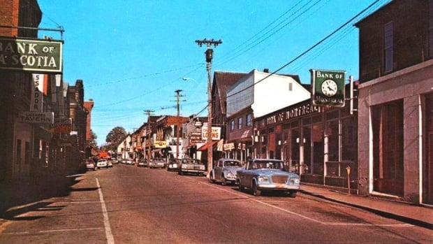 A look back at Water Street in the former town of Chatham.