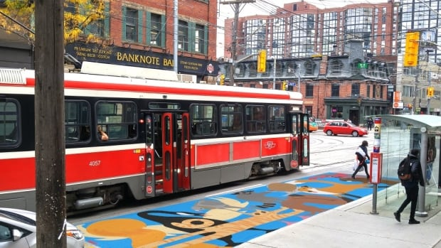 'Streetcar safety murals' painted on the road space between sidewalk stops and streetcars were a winning NXT City Prize idea, and they'll be a reality on King Street thanks to a pilot project that's set to transform the street.