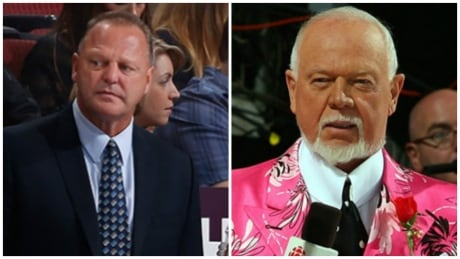 Gerard Gallant and Don Cherry