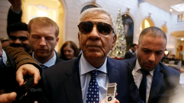 Iraq's Oil Minister Jabar Ali al-Luaibi arrives in Vienna yesterday in advance of Wednesday's OPEC oil ministers meeting.