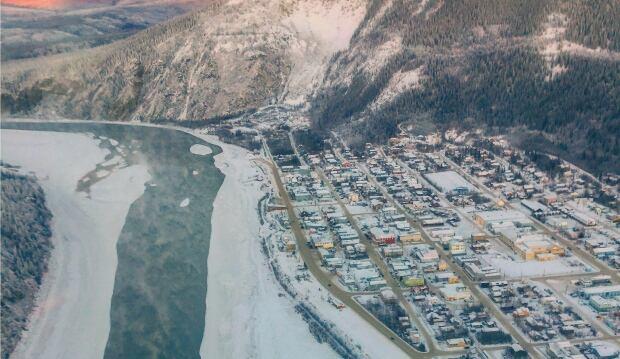 dawson City Yukon River Nov. 23