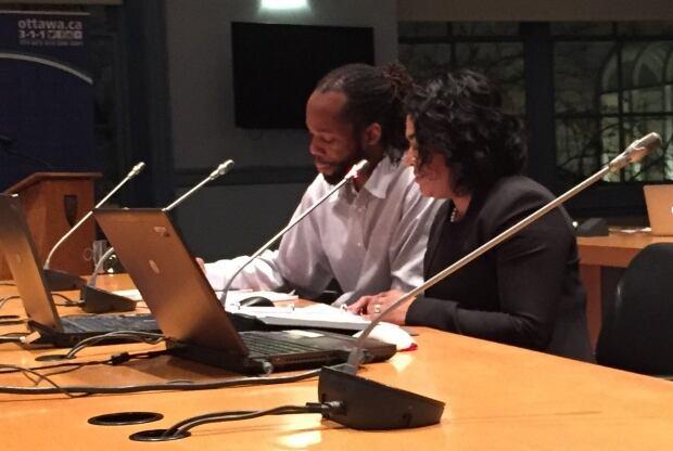 Renu Mandhane and Runako Gregg of Ontario Human Rights Commissioner
