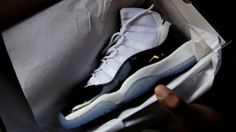 huge selection of 86fe6 77e27 A Brockville, Ont., man is missing 30 pairs of expensive Air Jordan shoes  after a break-in at his home last week. (Marcio Jose Sanchez Associated  Press)