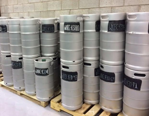 western newfoundland brewing company kegs