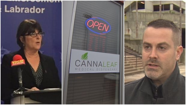 The Cannaleaf marijuana store in downtown St. John's is under investigation by the Combined Forces Special Enforcement Unit and the City of St. John's.