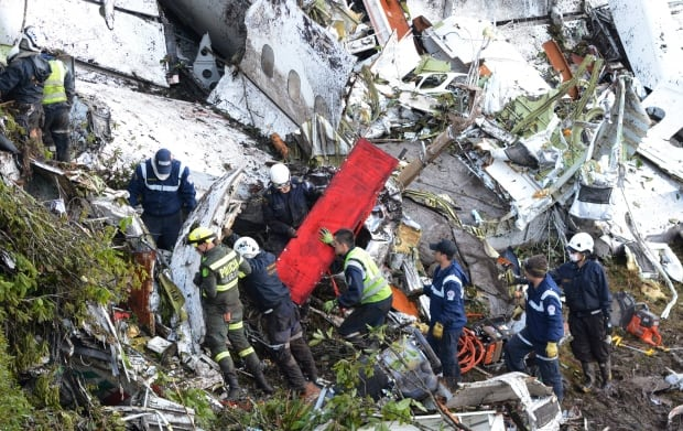 CORRECTION Colombia Air Crash
