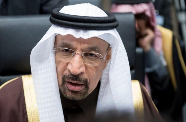 Saudi Arabia's Khalid al-Falih, OPEC