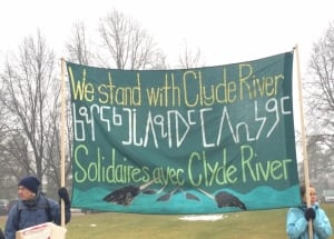 Clyde River Seismic Testing Protest at Supreme Court of Canada
