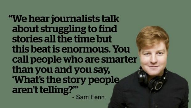 Sam Fenn Quote Board