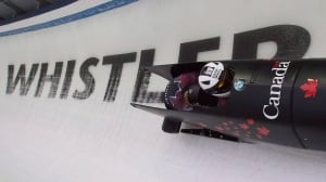 World Cup bobsleigh and skeleton from Whistler, B.C.