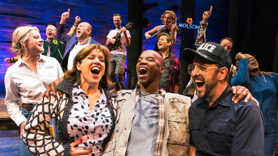 The musical Come From Away tells the story of the people of Gander, Newfoundland who opened their hearts and homes to stranded plane passengers on 9/11.