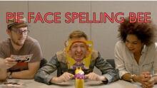 Pie Face Spelling Bee