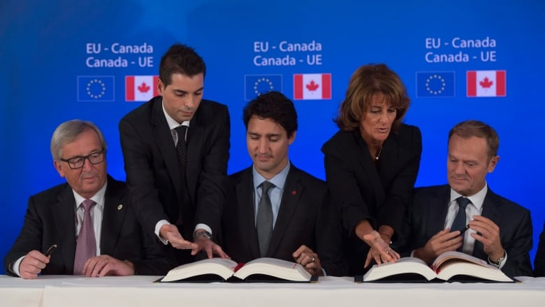 Canada Eu Trade Agreement Clears Two More Hurdles In Europe Cbc News