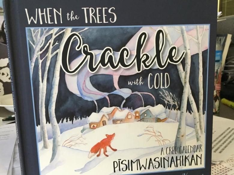 Cree calendar, children's book relates life experiences to