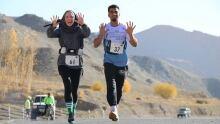 Afghanistan marathon Kate McKenzie