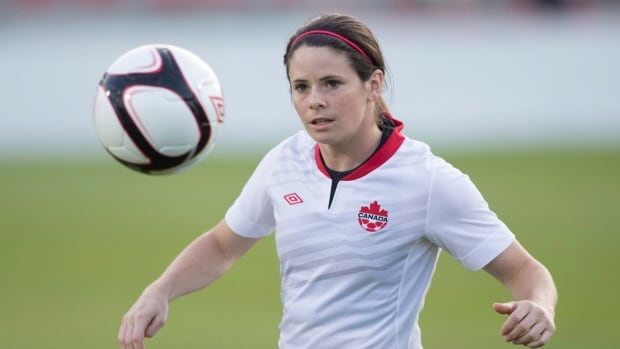 Diane Matheson will be part of a group announcing the formation of the Canadian Women's National Soccer Team Players' Association.