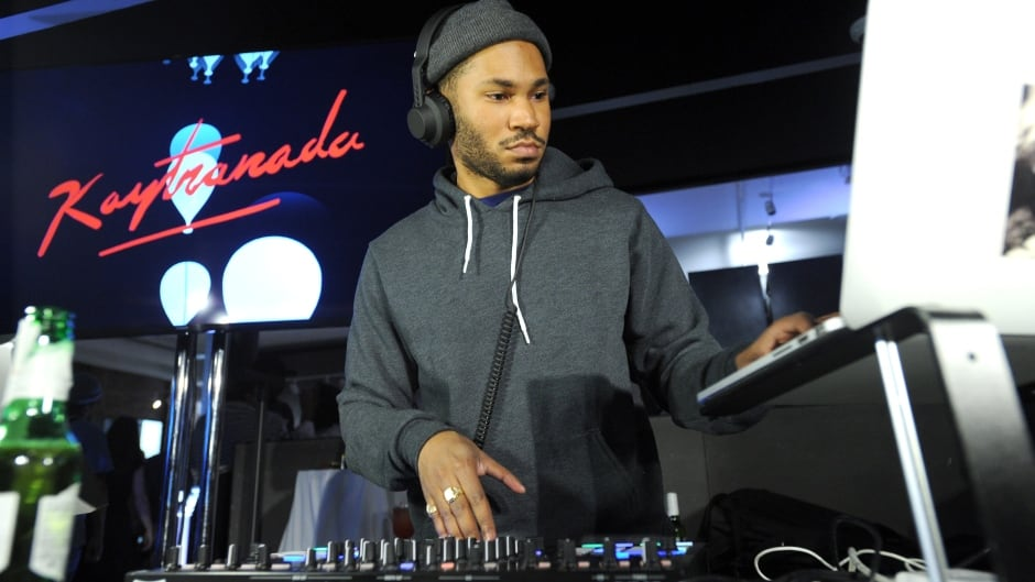 Kaytranada performs at the Canada Goose New York City Flagship Store opening on November 16, 2016 in New York City.