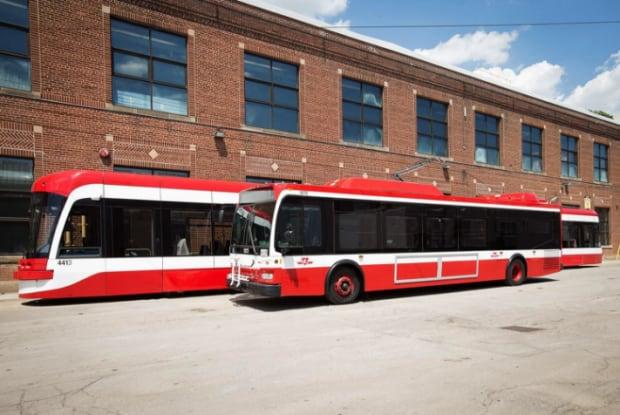 TTC Livery Bus Streetcar
