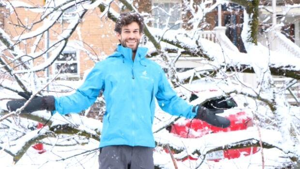 Charles-Olivier Laporte snow storm Quebec City