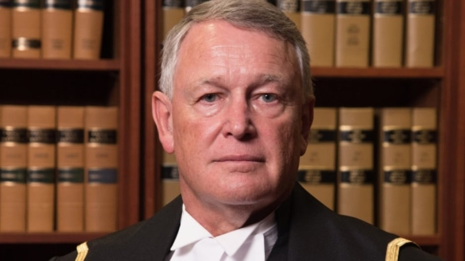 Former Justice Robin Camp. (Andrew Balfour/Federal Court)