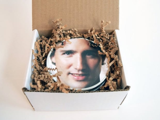 Justin Trudeau scented candle